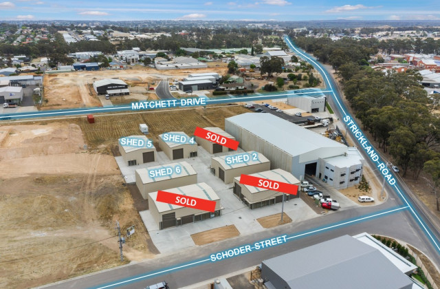 Shed 6, 4 Schoder Street, STRATHDALE VIC, 3550