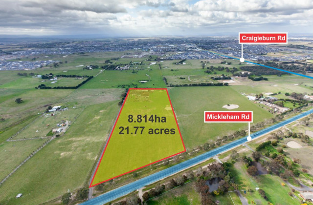 Front Parcel of 1630 Mickleham Road, MICKLEHAM VIC, 3064