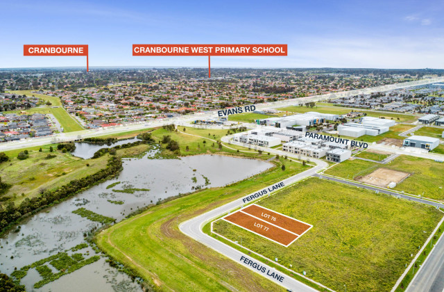 Lot 76-77/59-61 Fergus Lane, CRANBOURNE WEST VIC, 3977