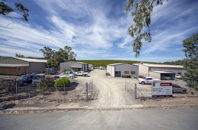 Shed 1/37 Old Mill Court, MCLAREN VALE SA, 5171